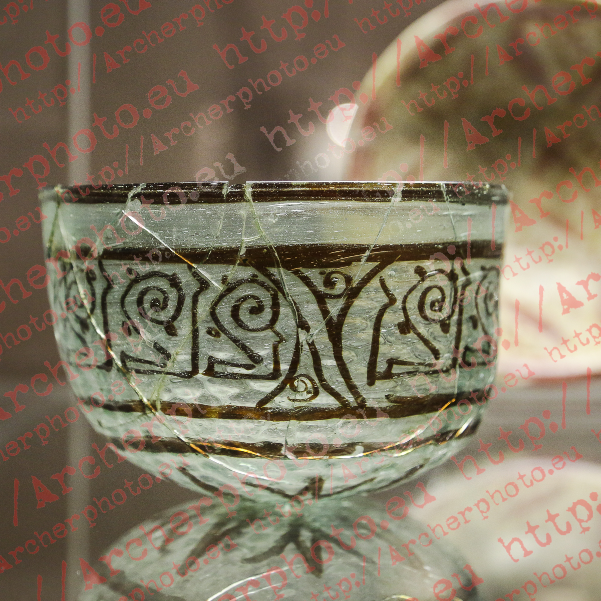 Egyptian Glass Bowl