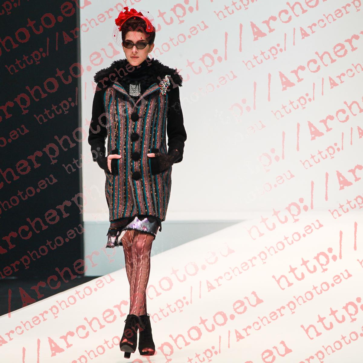 Eugenio Loarce, February 16th 2012 Valencia Fashion Week