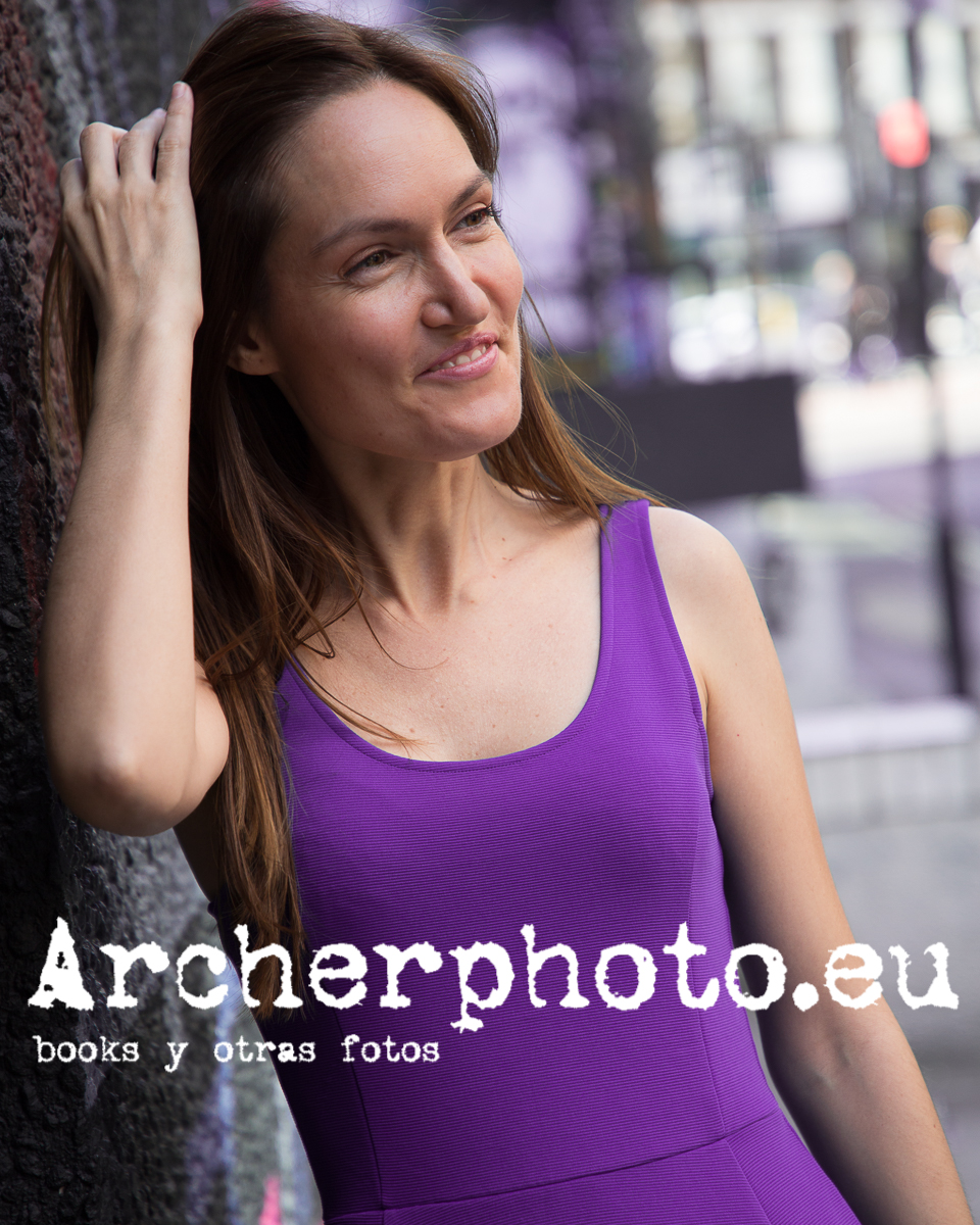 Inma in Shoreditch by Archerphoto, professional photographer in London