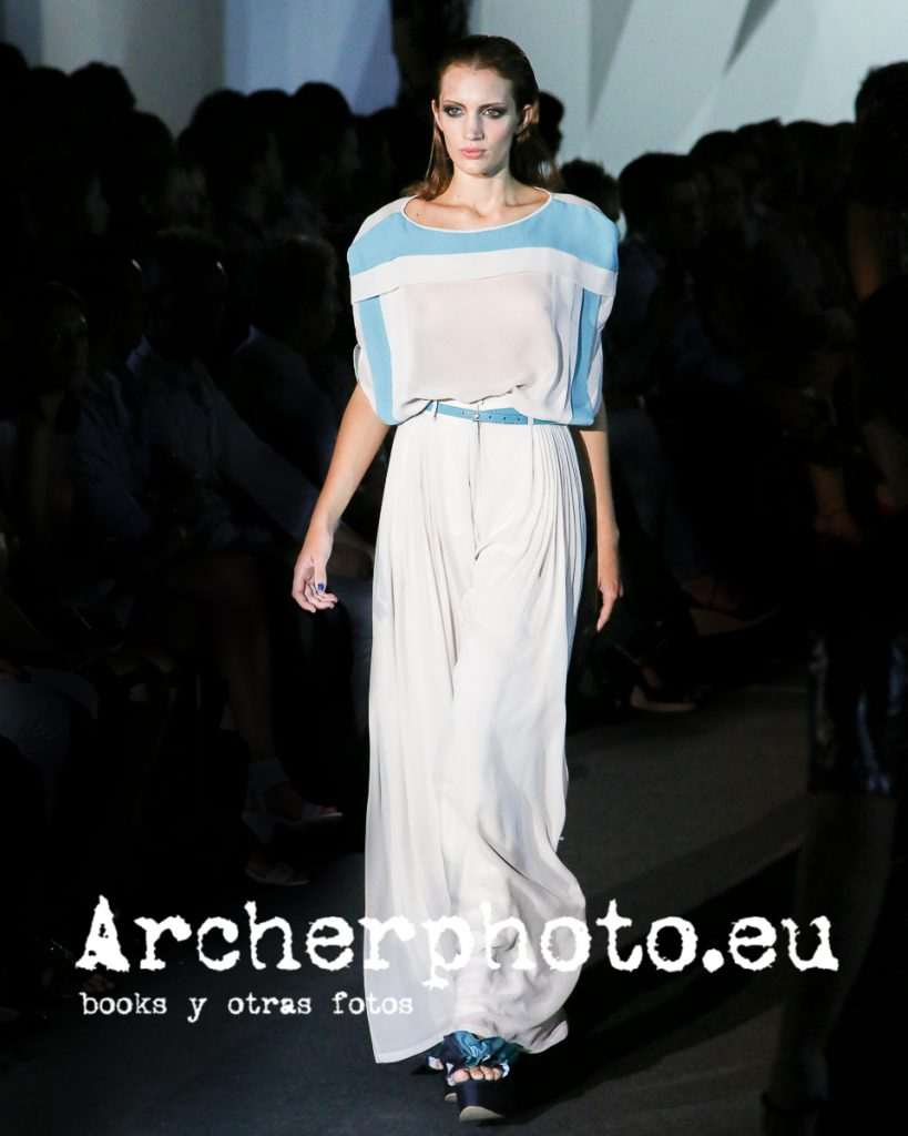 Luisina Coral in Higinio Mateu, Valencia Fashion Week, September 15th 2012