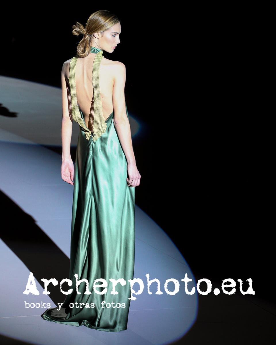 Elena Santamatilde in Alex Vidal runway, Valencia Fashion Week, February 3rd 2011