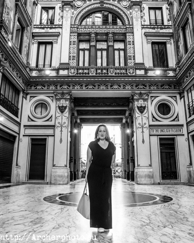 Nadia Alba in Rome, 2018, by Archerphoto Fotografo.