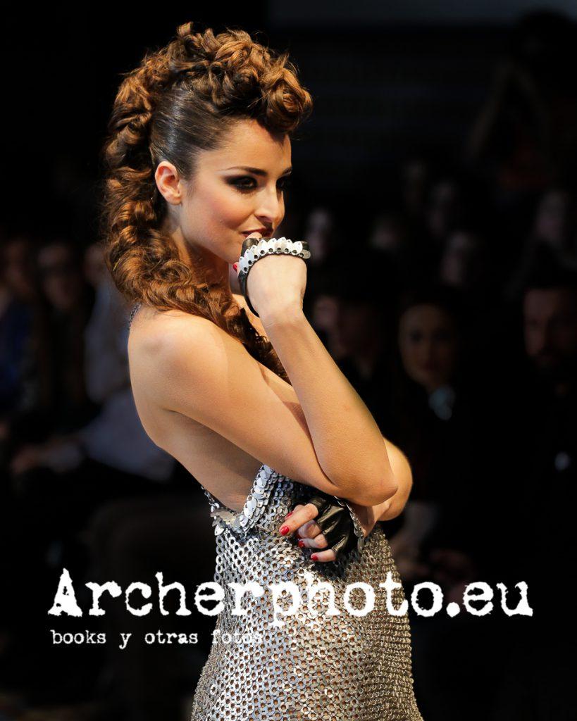 Lorena Van Heerde in Anillarte, Valencia Fashion Week, February 8th 2013, fotografia Valencia Archerphoto