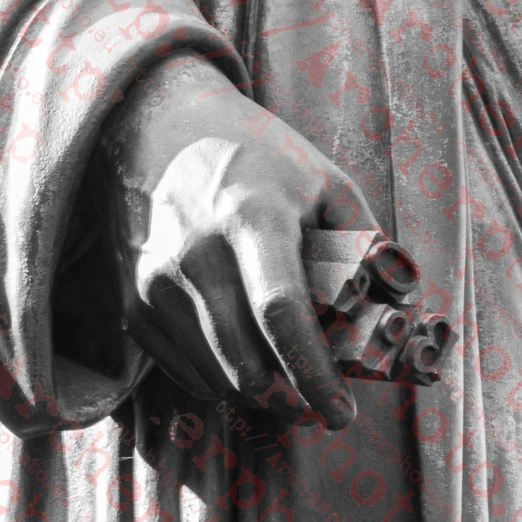 Interludio en Maguncia (1), estatua de Gutenberg, tipos móviles, fotografo profesional