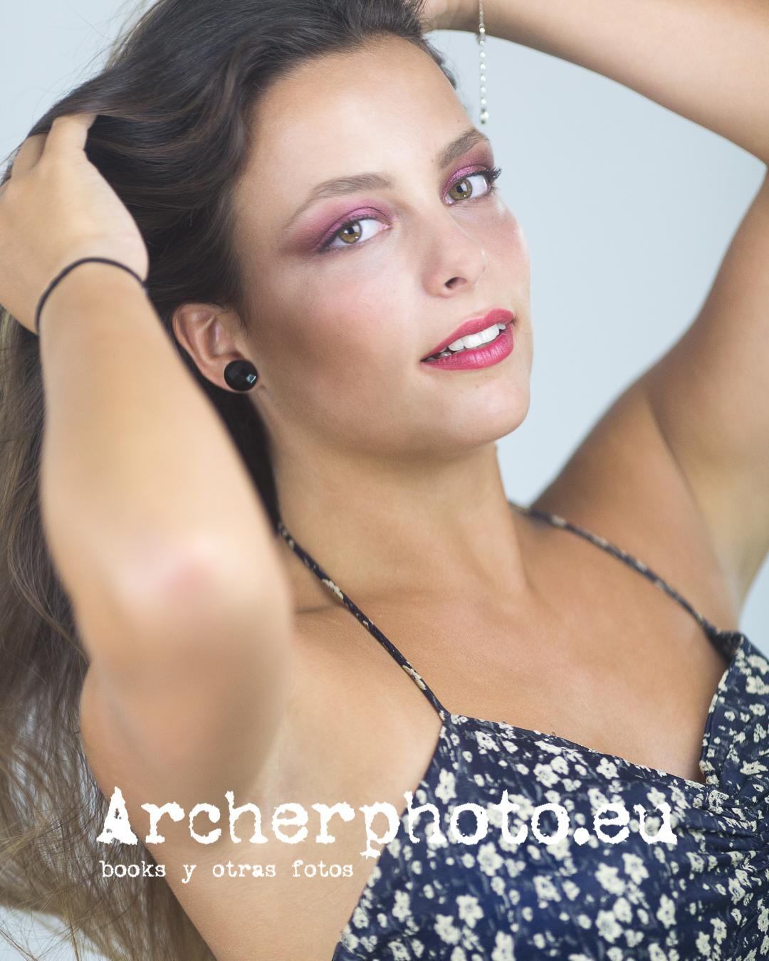 Patricia, 2019 (4) en una sesión de estudio, imagen de Archerphoto, fotograof