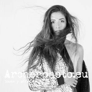 Barbara Isabel in the studio, 2017 por Archerphoto fotografos Valencia