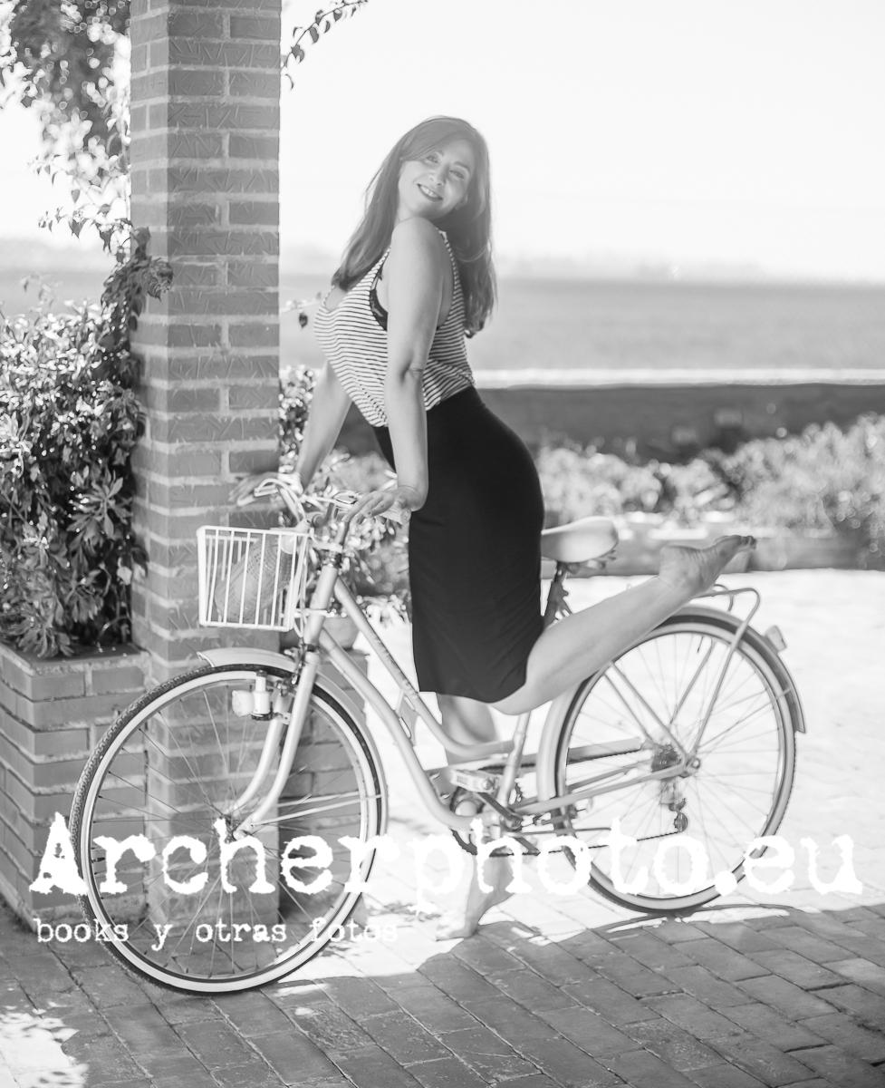 Retrogirl (2), Belén Riquelme en un retrato de Archerphoto