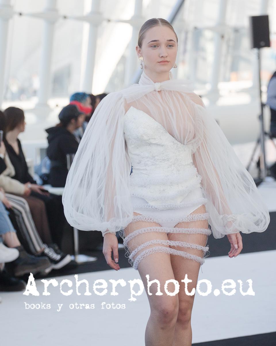 Desfile Emergentes (Ana Indira), 22 de febrero de 2020, Clec Fashion Festival València fotografia moda valencia