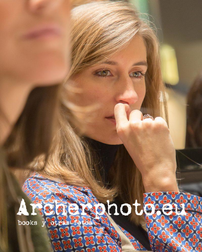 María Abajo en el evento de Durán Joyeros