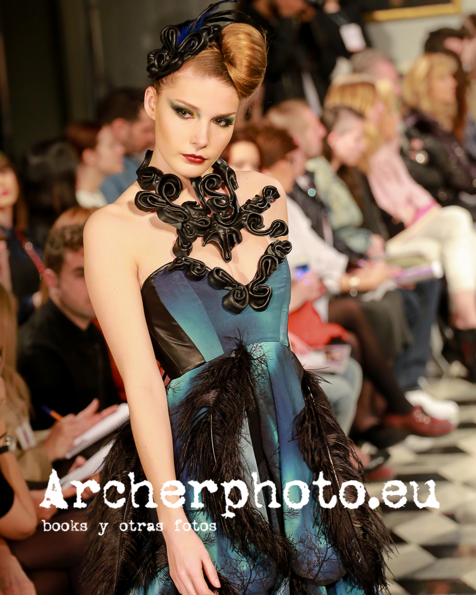 Bibian Blue, Valencia Fashion Week, March 8th 2014 by Archerphoto fashion photo Valencia
