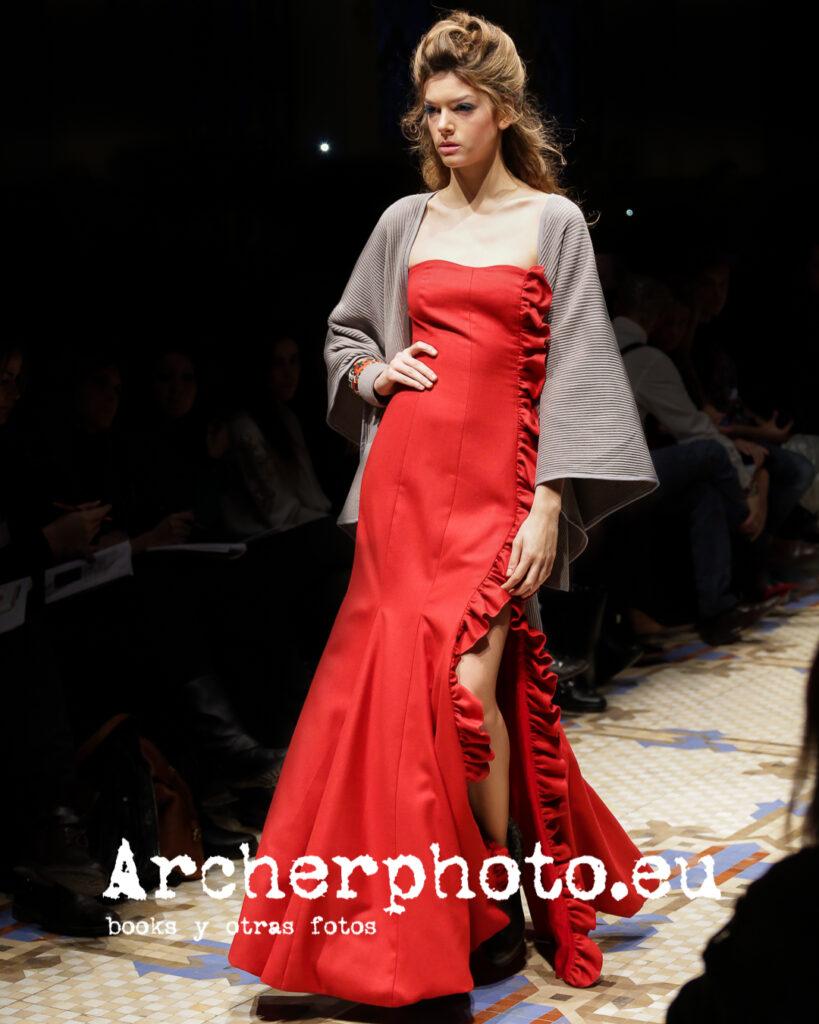 Marta Ortiz, Aurelia Gil, February 8th 2013 Valencia Fashion Week por Archerphoto, fotógrafo profesional