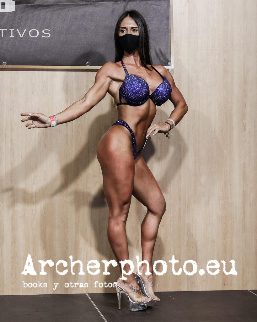 Cristina Díez, 2021, Campeonato de España CIBB, València por Archerphoto, fotógrafo fitness