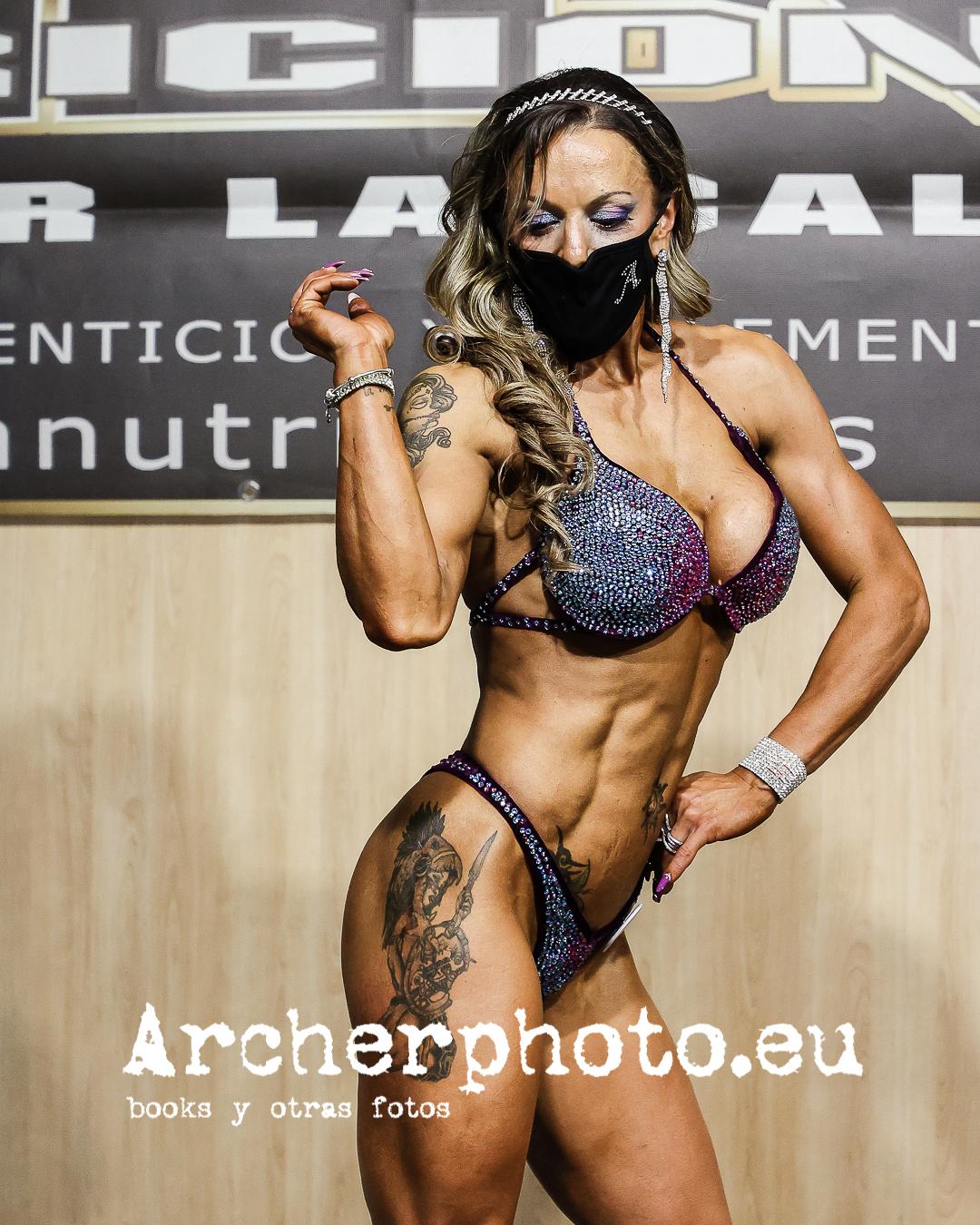 Ana Tomás, 2021, Campeonato de España CIBB, València por Archerphoto, fotógrafo fitness España