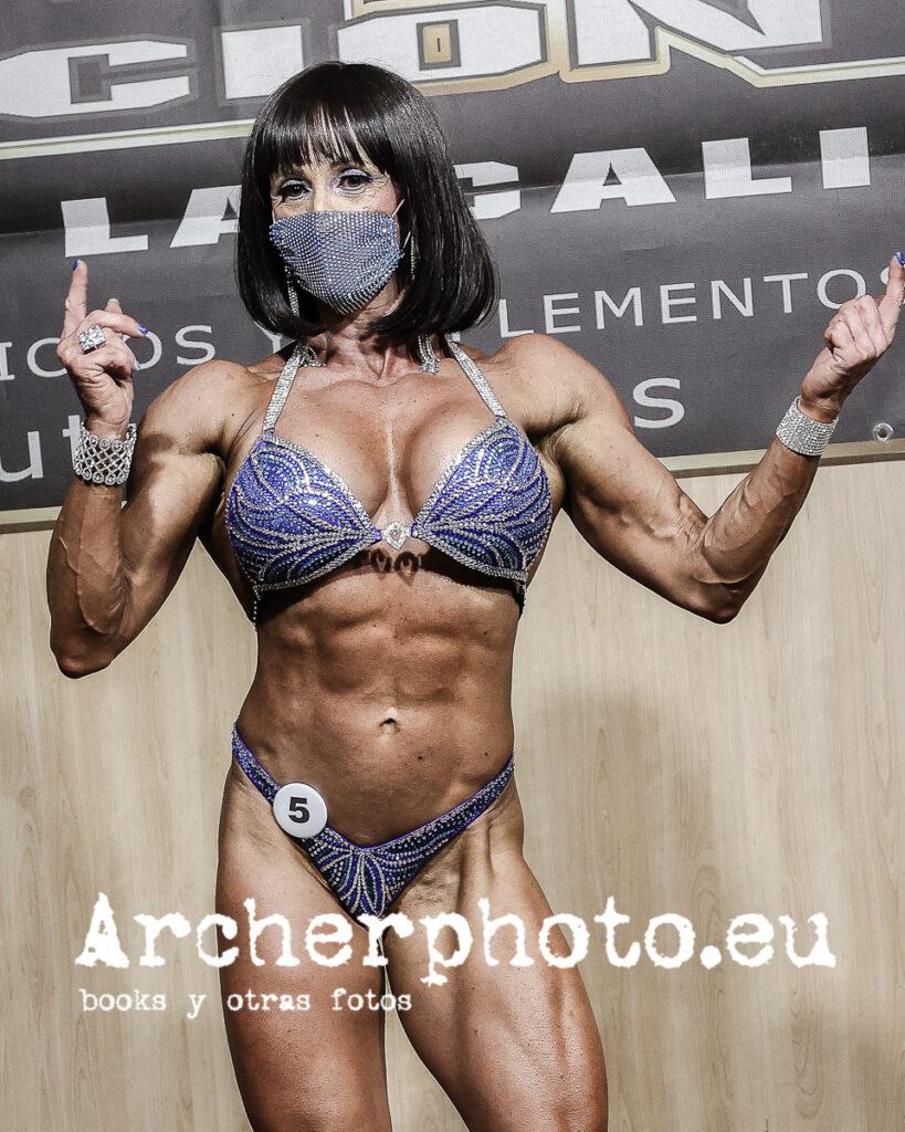 Maribel Fuentes, 2021, Campeonato de España CIBB, València por Archerphoto, fotógrafo fitness