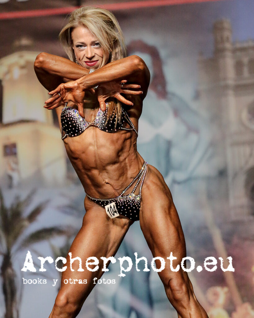 Olga Permina, 2014, Miss Figure over 40 class winner by Archerphoto, professional fitness photographer