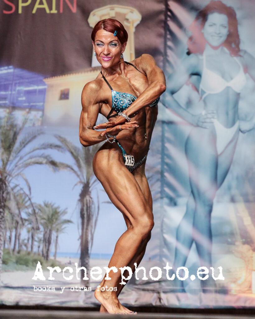 Edyta Woźnicka-Bosak, Miss Figure Class (2), NAC International Championships, Castellón May 31st 2014 by Archerphoto, fotógrafo profesional València.