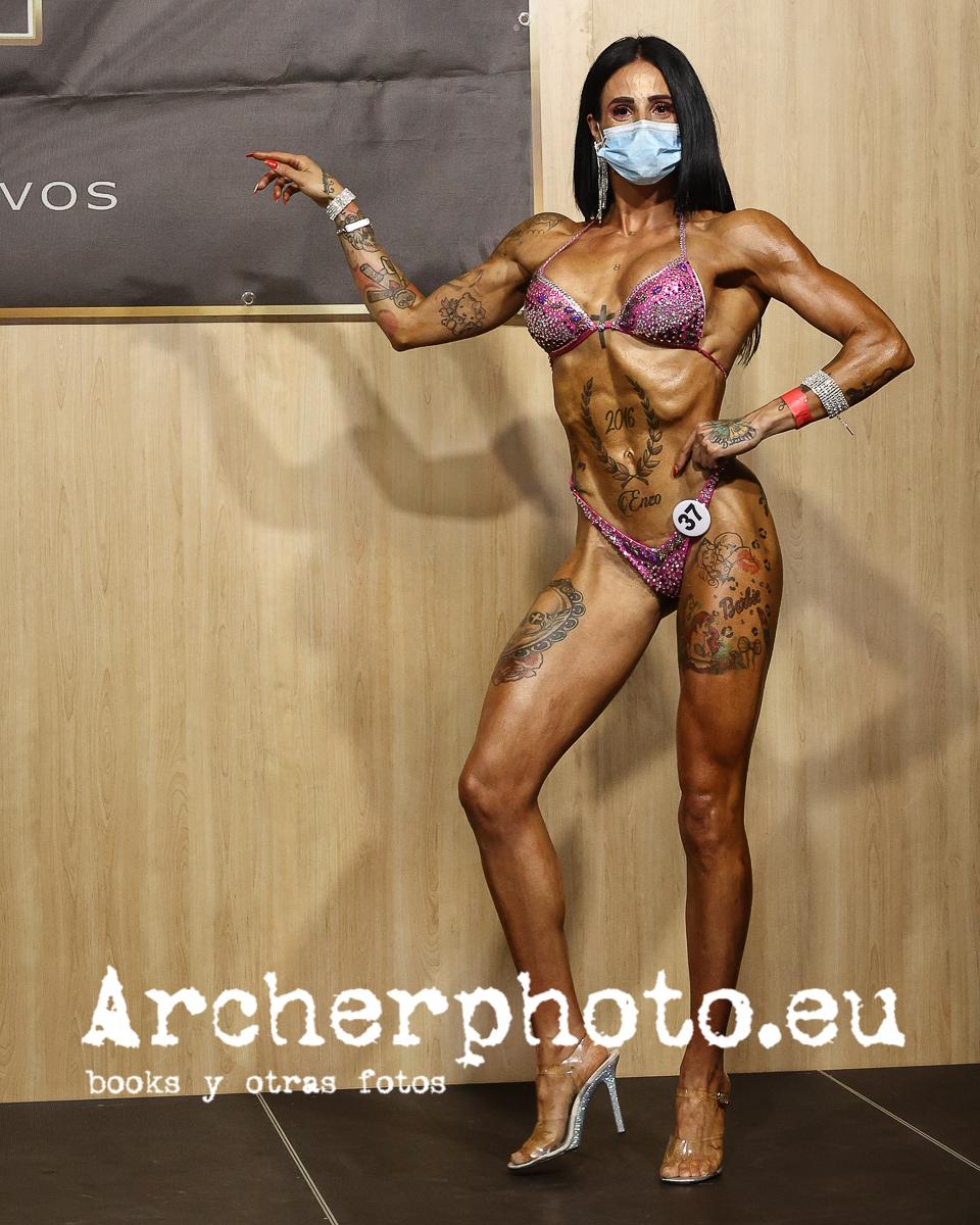 Mery Valiente, 2021, Campeonato de España CIBB, València, por Archerphoto, fotógrafo fitness