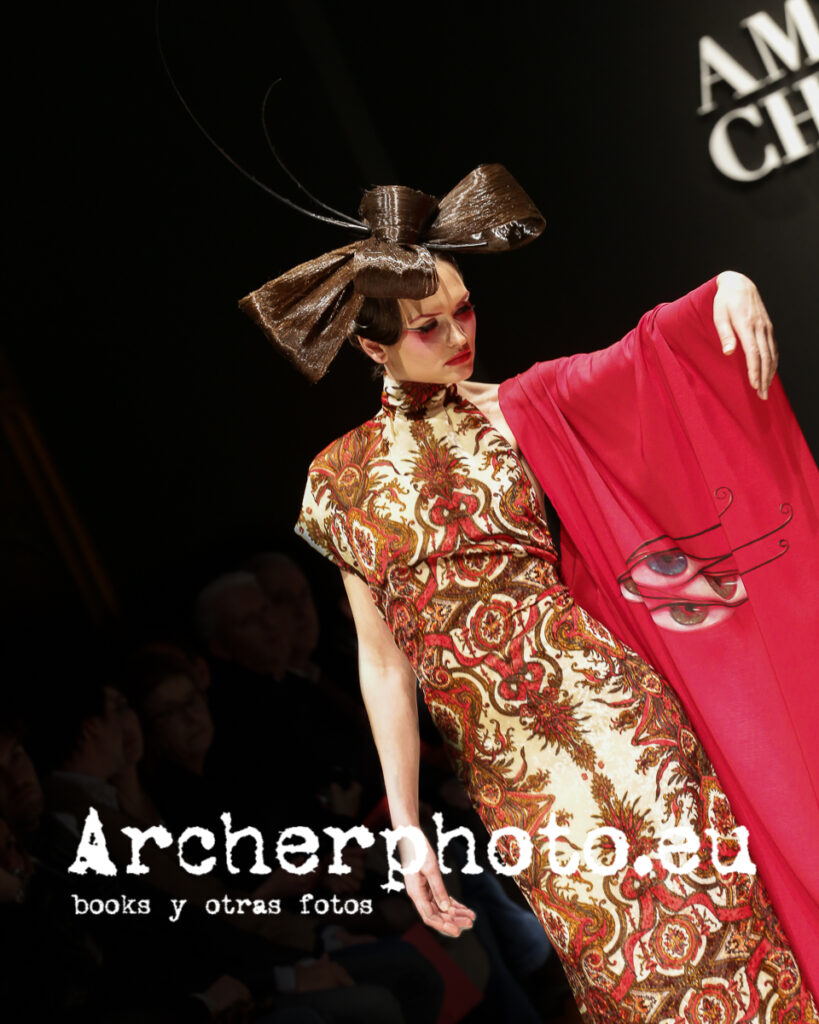 Desfile Amparo Chordá, Valencia Fashion Week, 8 Febrero 2013 por Archerphoto, fotógrafo moda.