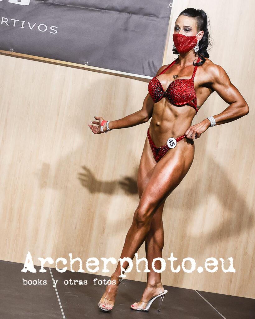 Nuria Priego, 2021, Campeonato de España CIBB, València por Archerphoto fotógrafo fitness